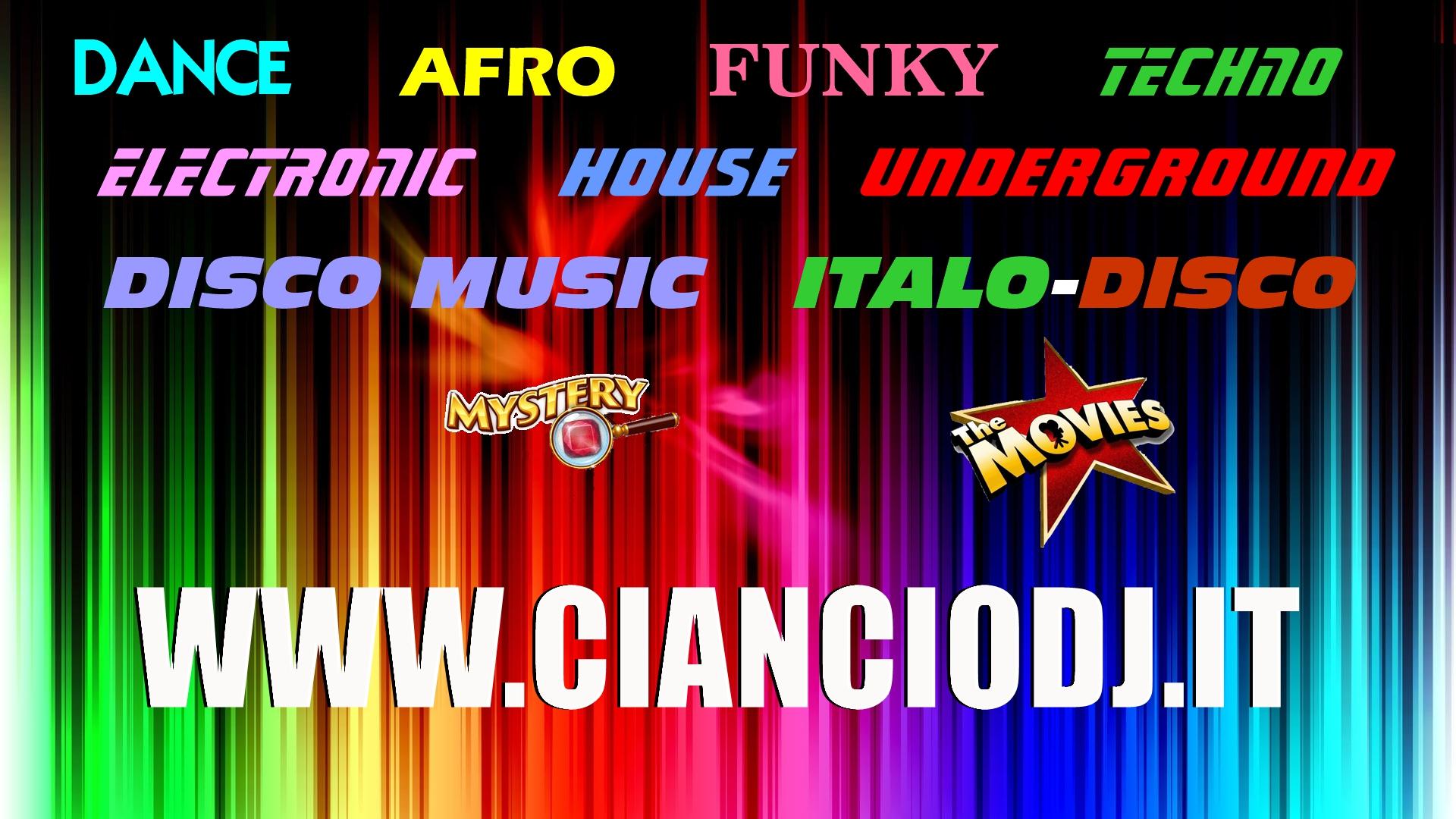 Sito Ufficiale Ciancio DJ - Official Website of Ciancio DJ